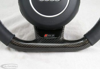 RS7 Thick Flatbottom Steering Wheel