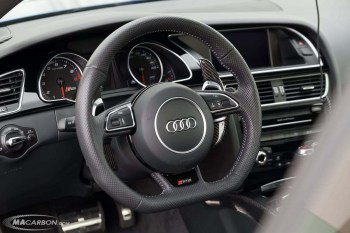 Audi Carbon Fiber Extended Paddle Shifters