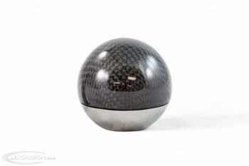 Murcielago Carbon Fiber / Stainless Shift Knob with Short Shift