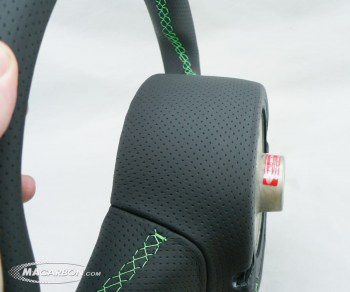 Gallardo 2010+ Perforated with Green Stitching