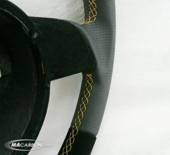 Gallardo 2004-06 Carbon Ring, Perf Grips And Suede