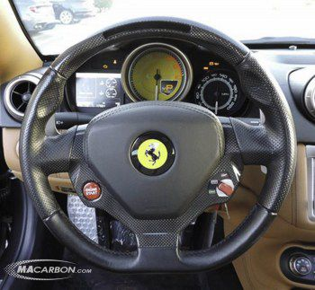 Ferrari OEM LED Carbon Steering Wheel