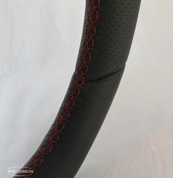 997 Standard Wheel- Carbon Top, Perforated Grips, Red Ring