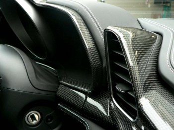 458 Carbon Interior Package