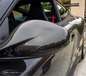 Porsche 997 V2 2009+ Outside Mirrors - Top Only