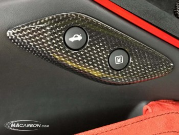 F12 Gas Lid Button Surround