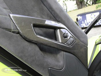 Aventador Interior Door Handle Set