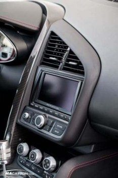 R8 OEM Carbon Fiber Dashboard Surround -    'The Swoosh'