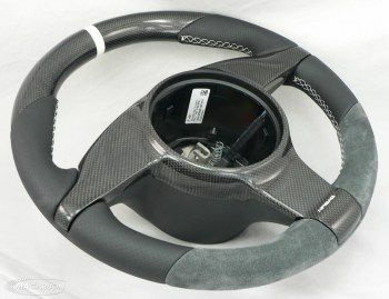 997 Standard Wheel- Carbon Top, White Ring